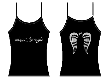 """MISTRUST THE ANGELS"" (Tanktop)"