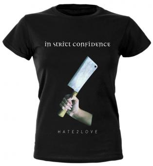 """HATE2LOVE"" (Girlie-Shirt)"
