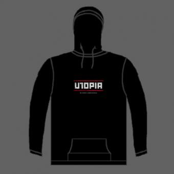 """UTOPIA"" (Hooded pullover)"