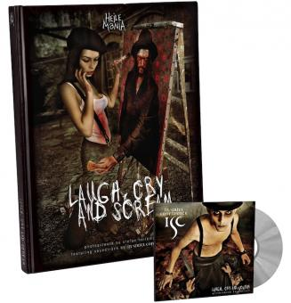 """LAUGH, CRY & SCREAM"" (Buch+CD)"
